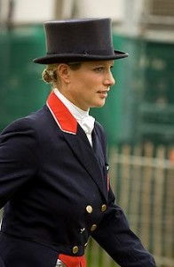Zara Phillips, daughter of Princess Anne and eldest granddaughter of Queen Elizabeth II