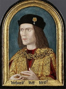 The earliest surviving portrait of King Richard III