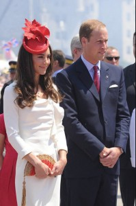 The Duke and Duchess of Cambridge in Ottawa for Canada Day in 2011