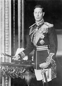 King George VI, the most recent second son to become King