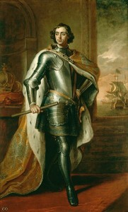 Peter the Great in 1698