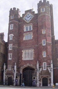 St. James's Palace in London
