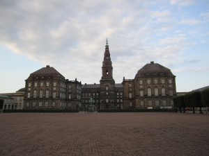 The Christiansborg Palace