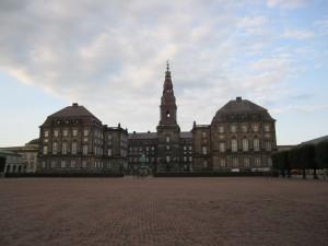 The Christiansborg Palace