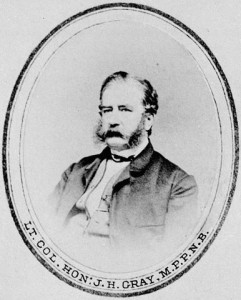 John Hamilton Gray of New Brunswick