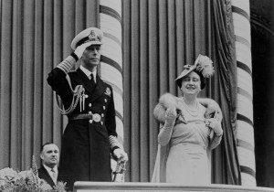 King George VI and Queen Elizabeth at Toronto City Hall in 1939