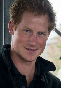 Prince Harry at the Invictus Games in London, 2014