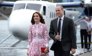 Prince William and Kate arrive in Vancouver by float plane on Sunday morning. (Jonathan Hayward/The Canadian Press)