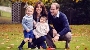William and Kate, Duke and Duchess of Cambridge with their children, Prince George and Princess Charlotte
