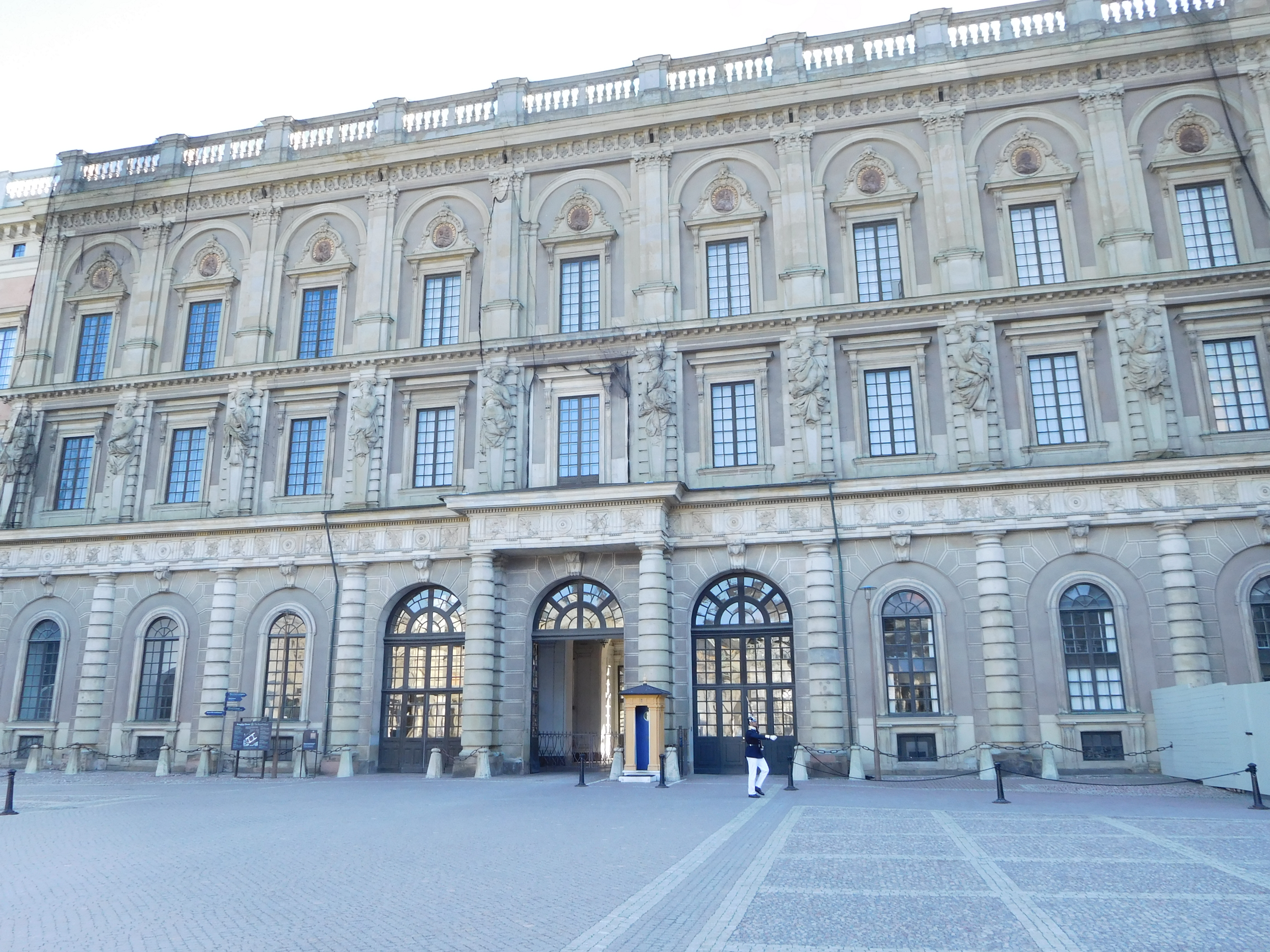 The first stop was stockholm sweden where i visited the royal palace the official residence of king carl xvi gustaf and queen sylvia